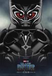 Black Panther LEGO poster
