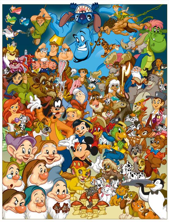 Disney characters/Gallery