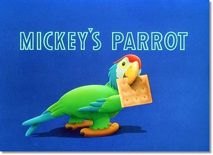 O Papagaio do Mickey
