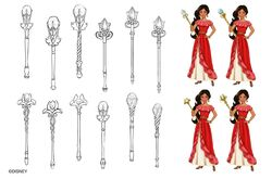 Elena of Avalor Disney Magical Scepter of Light
