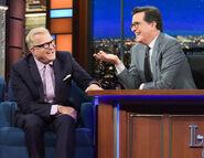 Drew Carey visits Stephen Colbert