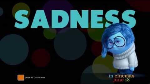 """Inside Out - Australian TV Spot """"Meet Sadness"""""""