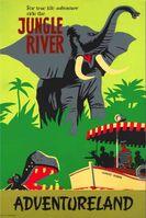 Jungle Cruise 1955 Poster