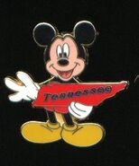Tennessee Mickey Pin