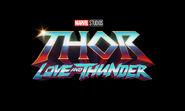 Thor Love & Thunder new logo