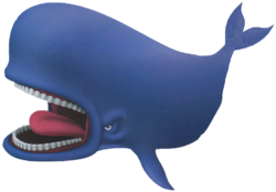 Monstro as he appears in the Kingdom Hearts series.