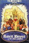 Snow white spain poster
