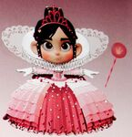 Vanellope Prinzessinnenkleid Konzept
