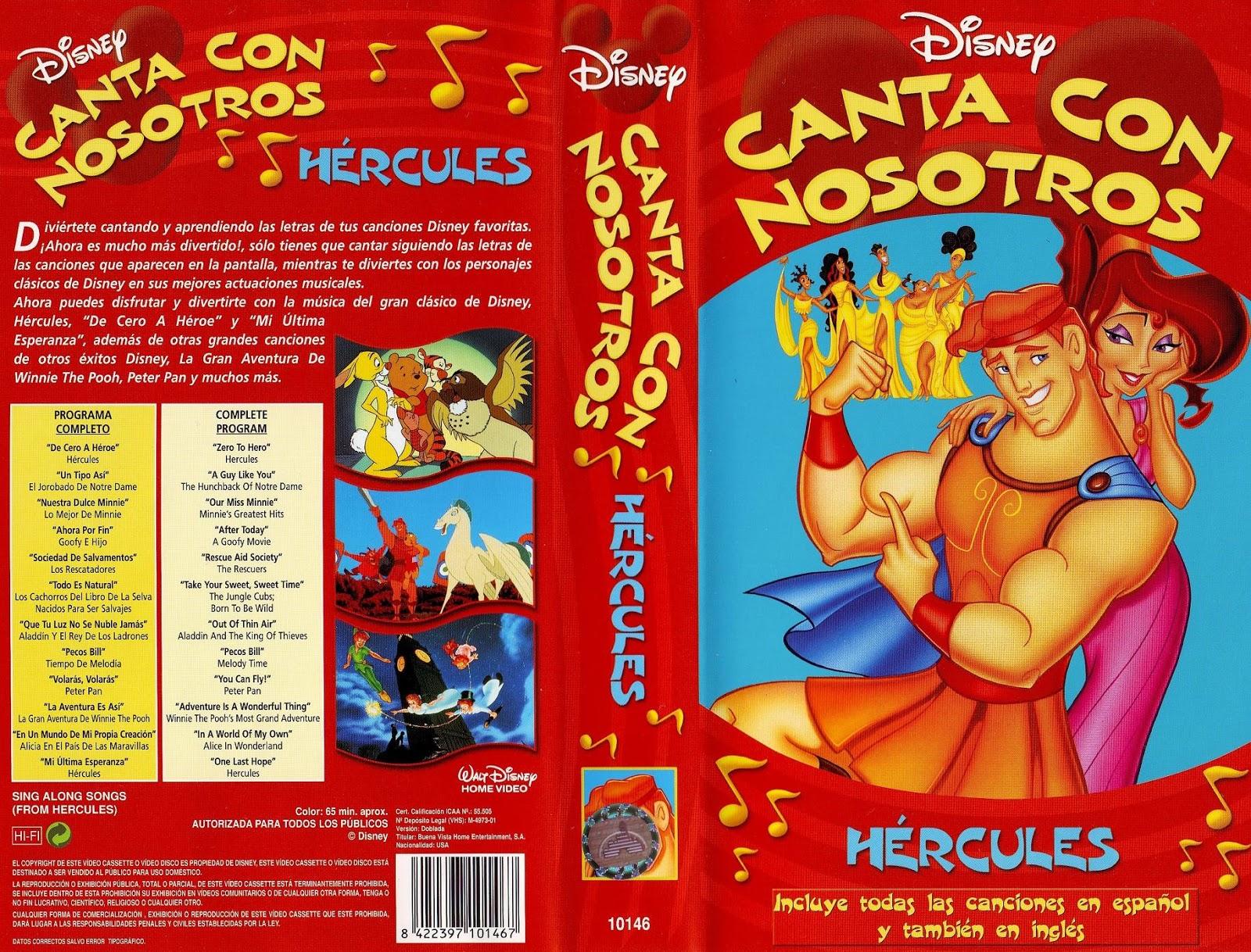 Disney's Sing-Along Songs from Hercules