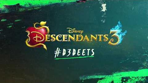D3 Deets Uma, Harry, & Gil Descendants 3