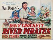 Davy crockett river pirates uk poster