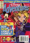 Disney Adventures Magazine cover March 2003 Yu gi oh