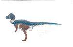 Pachycephalosaurus concept art
