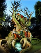 Tom Sawyer Treehouse Postcard