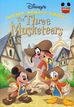 The Three Musketeers (Disney's Wonderful World of Reading)
