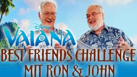 Best Friends Challenge mit Ron & John - Die Regisseure von VAIANA Disney HD