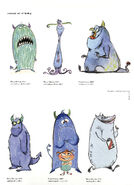 Concept art of Sulley