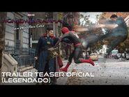 Homem-Aranha- Sem Volta Para Casa - Trailer teaser oficial legendado - 16 de dezembro nos cinemas.