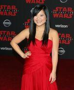 Kelly Marie Tran SW Last Jedi premiere