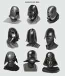 Knights of Ren helmet concept