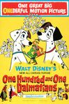 One Hundred and One Dalmatians original poster