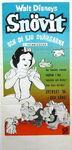 Snow white swedish poster 1960s