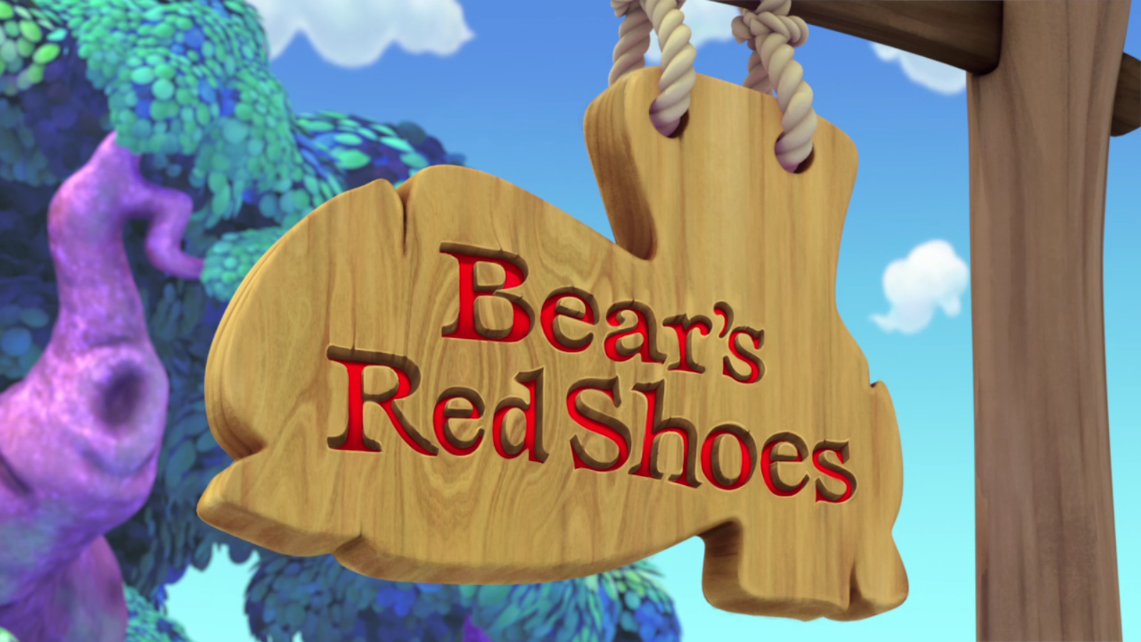 Bear's Red Shoes