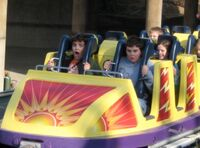 California Screamin Yellow Coaster