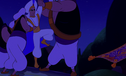 The Guards grab Aladdin from the Magic Carpet
