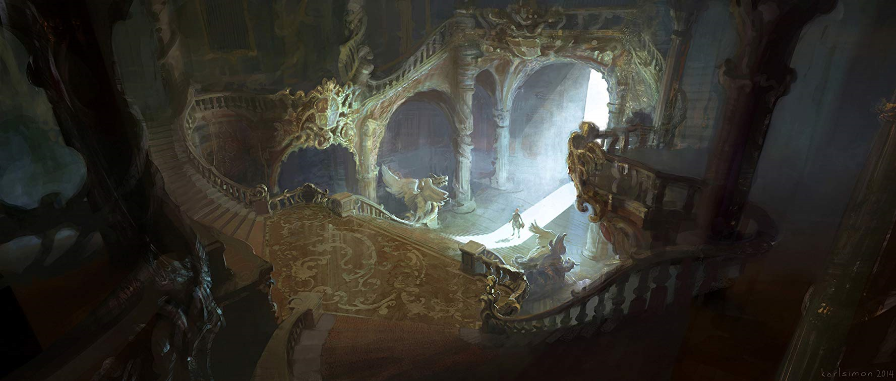 BATB Castle Stairway 2 concept.png