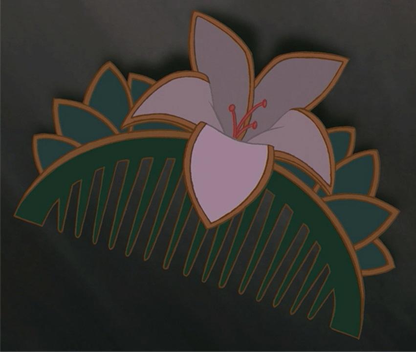 Pente Flor
