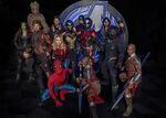 Avengers Campus Cast