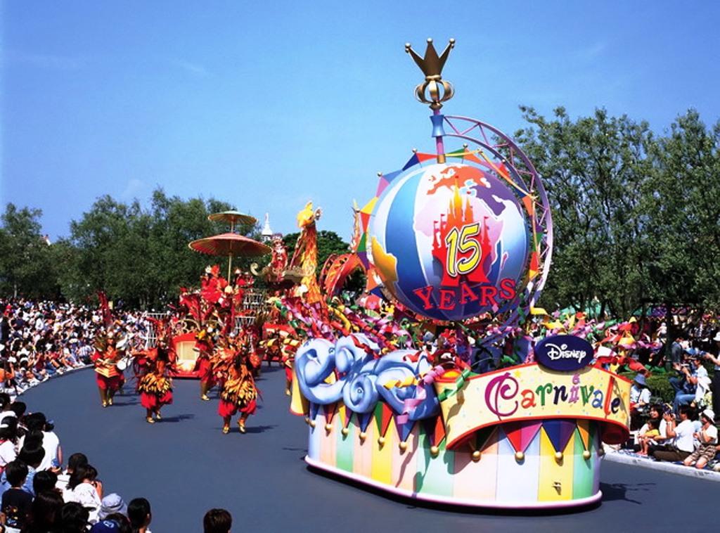 Disney Carnivale Parade