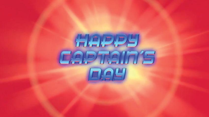 Happy Captain's Day