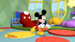 Mickey's clubhouse rocks