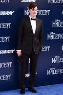 Sam Riley Maleficent premiere