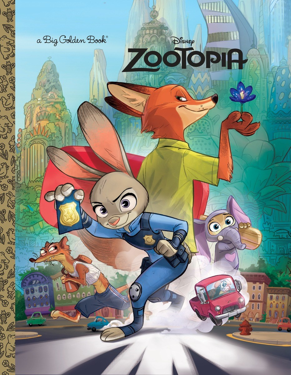 Zootopia (Big Golden Book)