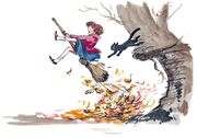 Disney's The Little Broomstick - Concept Art by Mel Shaw - 5