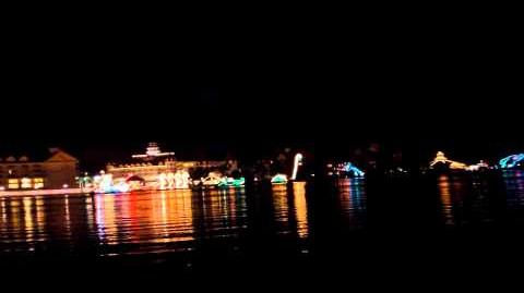 Electrical Water Pageant from Disney's Polynesian Resort 1080p HD 2014