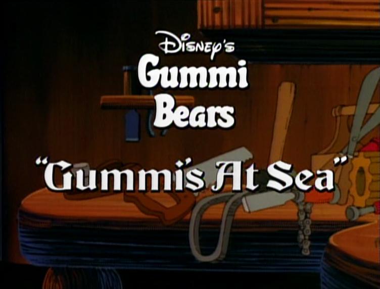 Gummi's At Sea
