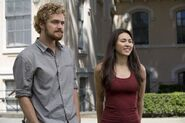 Iron Fist and Colleen Wing