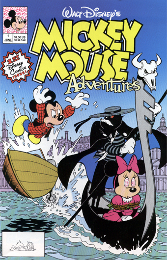 Mickey Mouse Adventures (Disney Comics)