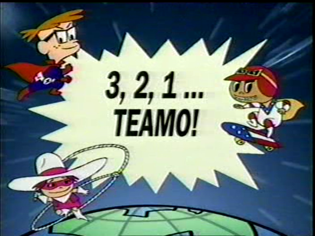 3, 2, 1... Teamo!