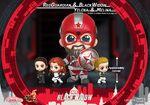 Black Widow Cosbaby Bobble-Heads - Red Guardian, Black Widow, Yelena & Melina