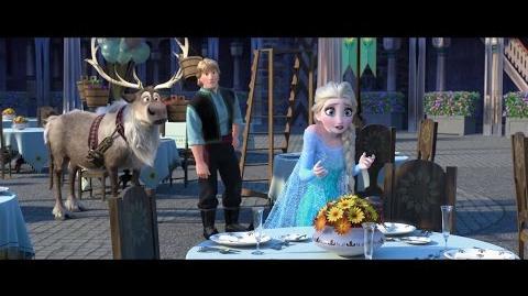 Frozen Fever - New Sneak Peek (2015) Disney Animation Short