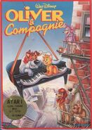 Oliver and Company Video Game Cover