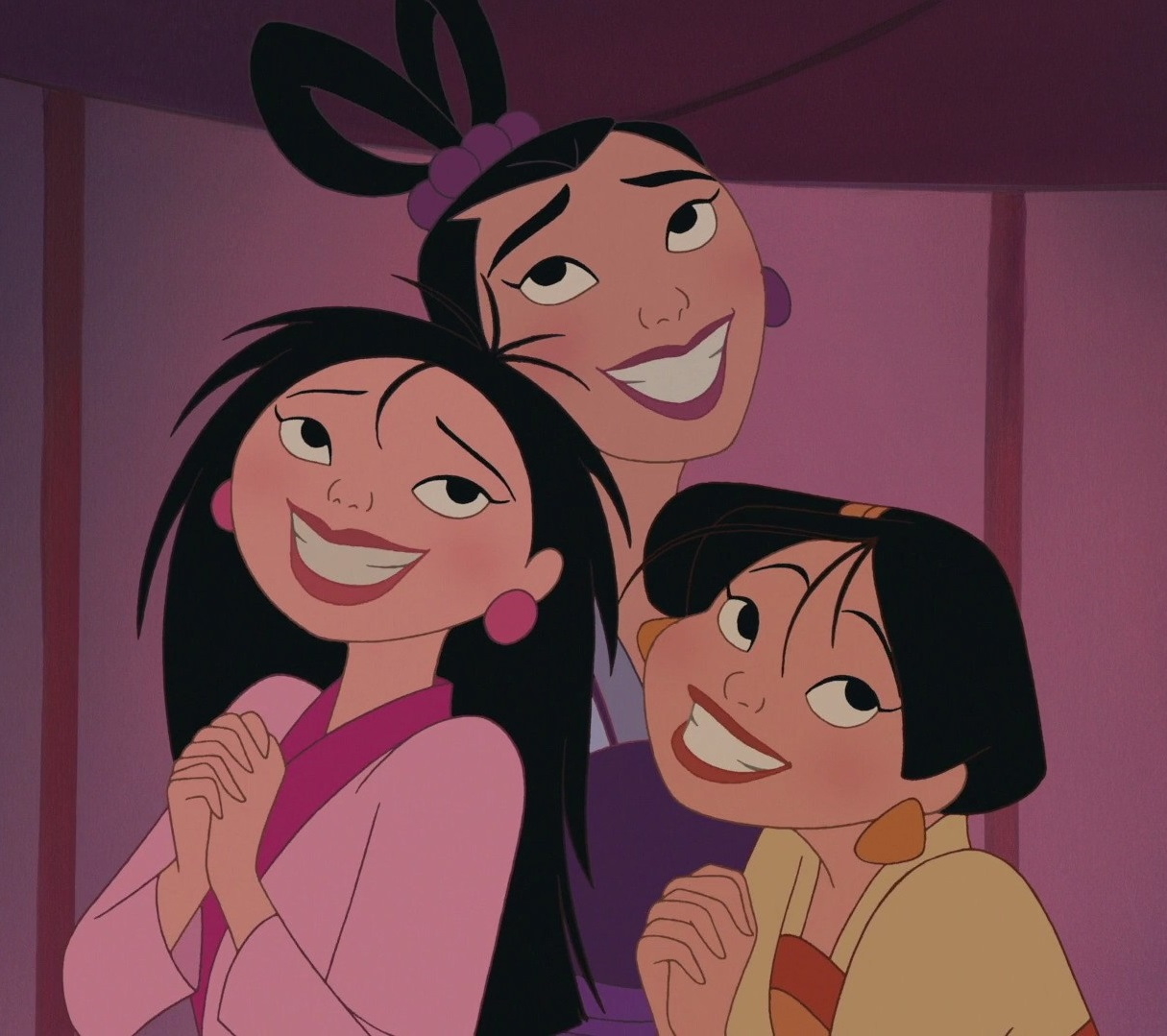 Ting-Ting, Su, and Mei