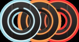 3 Identity Discs