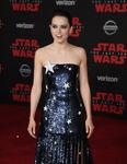 Daisy Ridley SW Last Jedi premiere