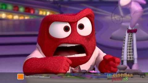 """Inside Out - Australian TV Spot """"Meet Anger"""""""